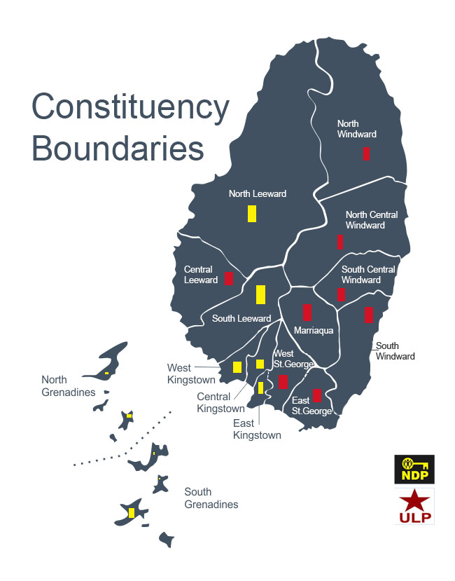 Constituency Boundries map